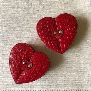 Danier genuine leather Jewelry boxes